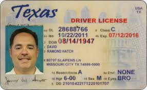 License Used Texas Blog On Allworldht's Drivers - Font