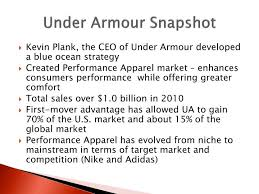 industry analysis template under armour powerpoint template ppt under armour pest and
