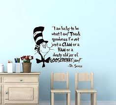 dr seuss wall decals vinyl wall art best of i am lucky to be what i am dr seuss wall decals the more you read ideal dr seuss wall decals