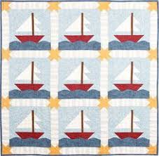 Love the patterns on Hollyhock Quilts | Quilting | Pinterest ... & I found a couple of sailboat quilt patterns I like for the boys. This is Adamdwight.com