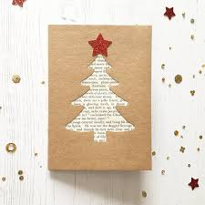 A Christmas Carol Quotes Awesome Handmade And Vintage Luxury Kraft Christmas Card With Ivory Insert
