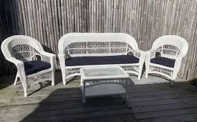 cape cod outdoor wicker sofa 2