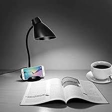 JUNING LED Desk Lamp with <b>3 Levels</b> of Adjustable <b>Brightness</b> ...