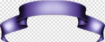 Purple Ribbon Banner Object Ribbons Purple Ribbon Banner Transparent Background
