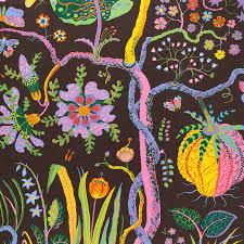 patterns furniture. Jozef Frank, Hawai Brun - © Svenskt Tenn Patterns Furniture