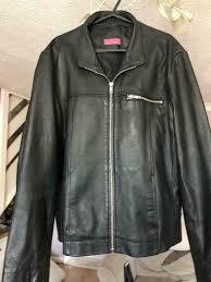leather jacket size 18