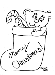 Small Picture transmissionpress Christmas Stocking Coloring Page For Kids