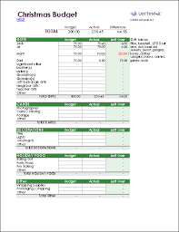 Holiday Form Template Excel Holiday Budget Planner Template For ...