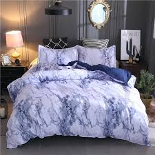 blue and brown duvet cover marble printed bedding set purple blue brown queen size duvet cover