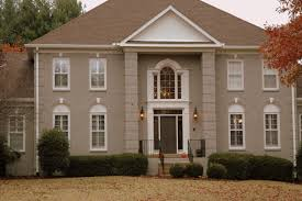 Painted Brick Facade Exterior Paint  Including Outside Colors - Exterior paint for houses