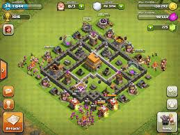 Base 7 Top 10 Clash Of Clans Town Hall 6 Trophy Base Layouts