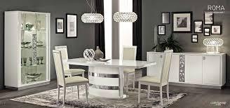 White Dining Room Furniture Roma White Dining Room Modern Dining Sets Furniture Mattress