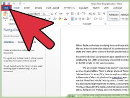 Word 2013 Themes How To Change The Theme On Microsoft Office 13 Steps