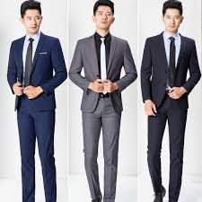 professional clothing 2019 wholesale 2017 new brand mens business suits casual blazer mens