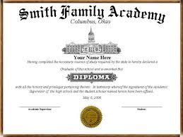40 High School Diploma Template Printables Free