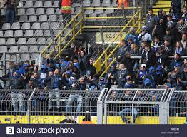 Dortmund, Deutschland. 27th Apr, 2019. firo: 27.04.2019, football,  1.Bundesliga, season 2018/2019, BVB, Borussia Dortmund - FC Schalke 04,  Schalke Ultras storm the guest block, | usage worldwide Credit: dpa/Alamy  Live News Stock Photo - Alamy