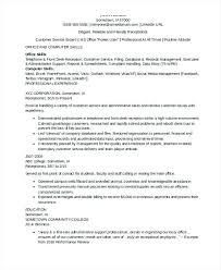 Professional Receptionist Resume Receptionist Resume Skills
