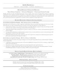 Examples Of Human Resources Resumes Noxdefense Com