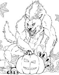 Hi kids here you will learn to draw and color a werewolf beast from the forest enjoy! Werewolf Coloring Pages Best Coloring Pages For Kids Halloween Coloring Pages Monster Coloring Pages Scary Halloween Coloring Pages