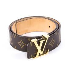 Designer Louis Vuitton Belts