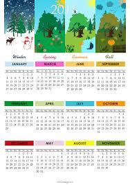 Nyc Design Calendar 2016 Calendar Printable Free 4 Season Calendar Monday