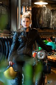 Women's Motorcycle Jacket - Richa Lausanne Black Leather Jacket | Motorcycle  jacket women, Motorcycle outfit, Womens motorcycle clothing