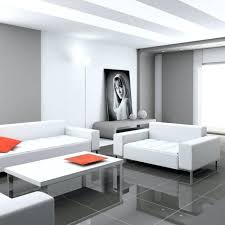 grey floor living room living room gray tiles floor tiles white furniture orange accents grey marble