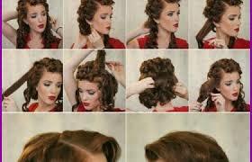 Coiffure Année 50 Femme Cheveux Court 162977 Tuto Coiffure