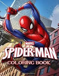The coloring books also makes a perfect gift for kids that love spiderman. Marvel Spider Man Coloring Book Great Coloring Book For Kids By Wonderful Books