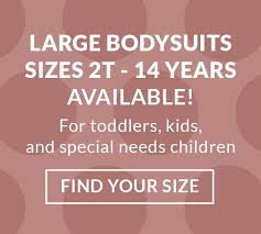 Gerber Onesie Size Chart Toddler Bodysuits Special Needs Baby Onesies 3t 4t 5t Up To 12