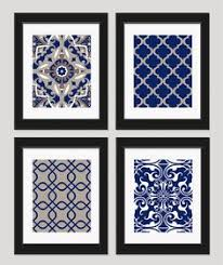 home wall art ideas design prints blue and white wall art hangings framed trimmed golden blue and white wall art silver painted great ear tat trinity  on blue and white wall art with wall art ideas design trimmed golden blue and white wall art