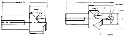 Port Tool Chart Dexport Tool Mfg Co Catalogue Ms33649 Indexable Carbide