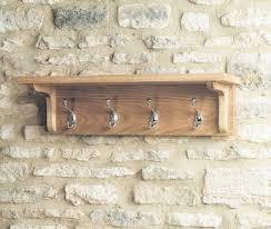 baumhaus mobel oak wall mounted coat rack baumhaus mobel oak 2
