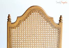 cane chair back