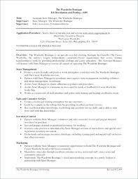 Loss Prevention Resume S Objective Manager Examples Merchandiser Job