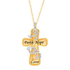 details about crystaluxe engraved cross pendant with swarovski crystals 18k gold plated silver
