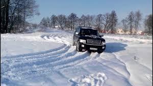 Инфинити QX56, зима 2014. - YouTube