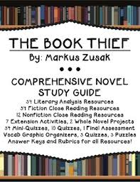 the book thief unit teaching resources teachers pay teachers  the book thief unit comprehensive suite of materials for novel study