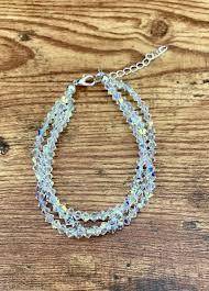 Sedalia Designs Braided Swarovski Crystal Bracelet