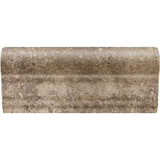 daltile santa barbara pacific sand 2 in x 6 in ceramic chair rail wall