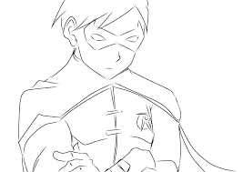 Young Justice Coloring Pages Coloring Pages Young Justice Coloring