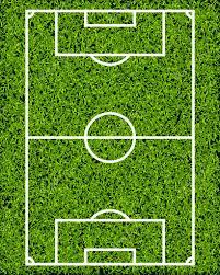 Realistic Textured Grass Soccer Field Stock Vector Sergt 43616311