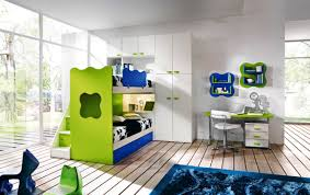 Bedroom:Amazing Kids Room Designs Home With Green Color Shcemes Idea  Amazing And Minimalist Kids