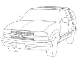 Small Picture Chevrolet Blazer coloring page Free Printable Coloring Pages