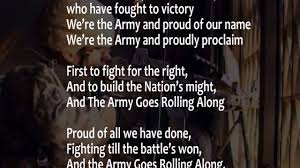The Army Song With Lyrics Performed By The United States Army Band W Scrolling