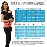 Baby Ktan Breeze Baby Wrap Carrier Infant And Child Sling Simple Wrap Holder For Babywearing No Rings Or Buckles Carry Newborn Up To 35 Lbs