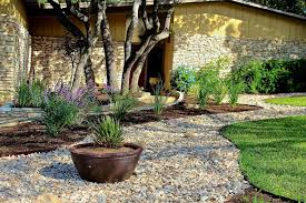 Awesome Landscaping With River Rock MANITOBA Design