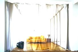 curtain divider ideas example of a trendy medium tone wood floor diy room divider curtain curtain