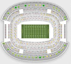 38 Explanatory Metlife Seating Chart With Seat Numbers