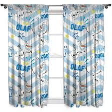 character world 54 inch disney frozen olaf curtains